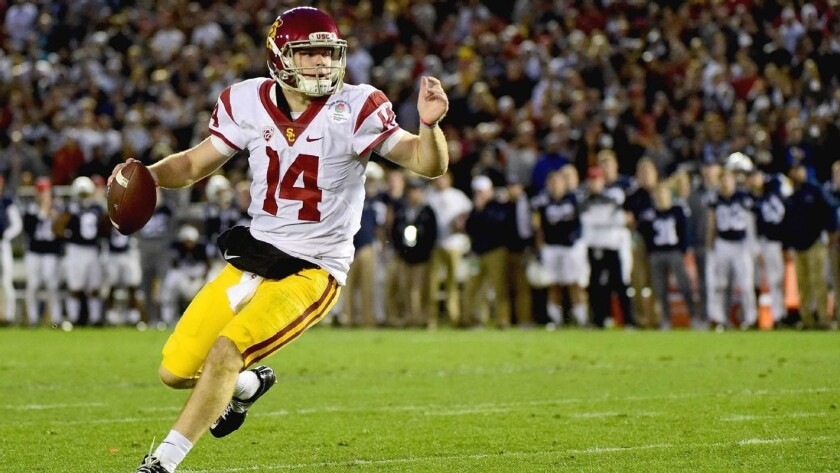 Sam Darnold, QB de USC Trojans.