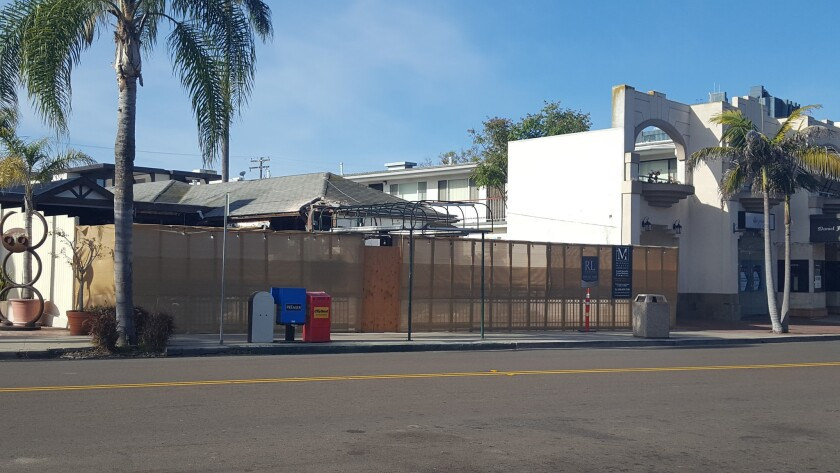 The space formerly home to Alfonso's Mexican food at 1251 Prospect St., is being remodeled for a to-