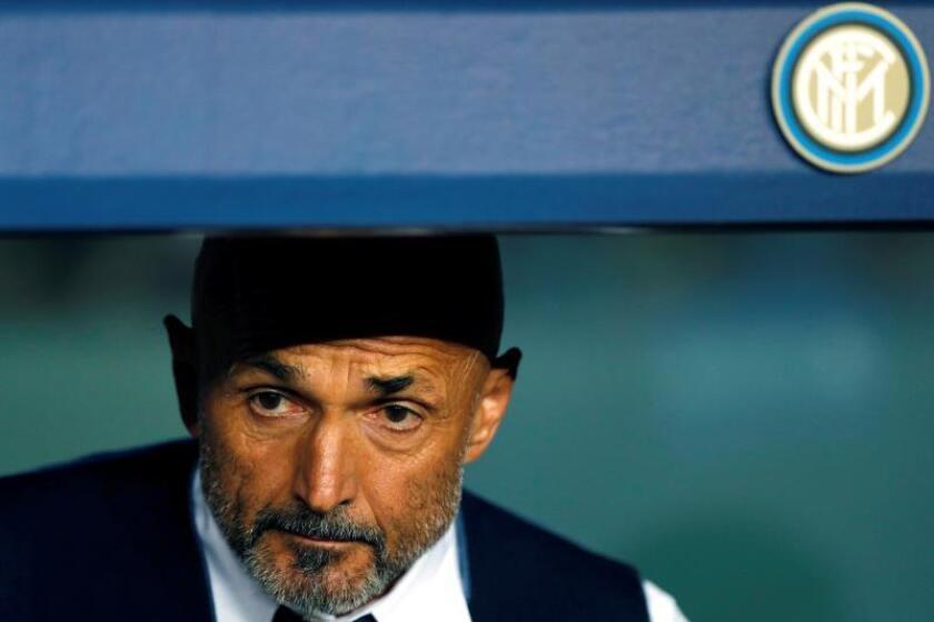 El entrenador del Inter de Milán Luciano Spalletti durante un partido. EFE/Archivo