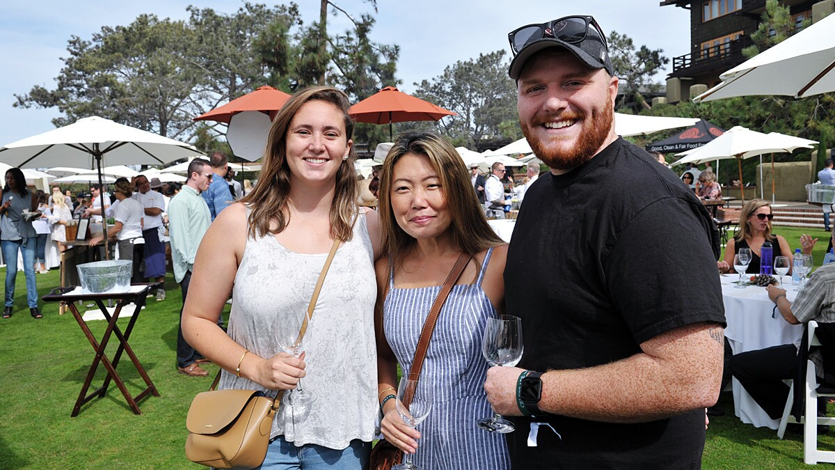 """Celebrate the Craft at the Lodge at Torrey Pines was billed as """"an annual celebration of the very best of California's culinary offerings"""" on Sunday, Oct. 28, 2018."""