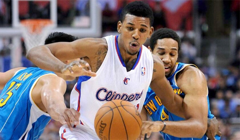 Nick Young with the Clippers.