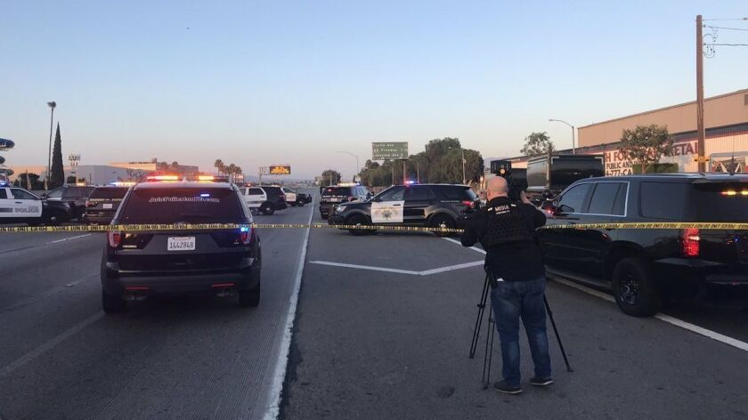 Fullerton police shoot and kill 17-year-old girl on 91 Freeway - Los