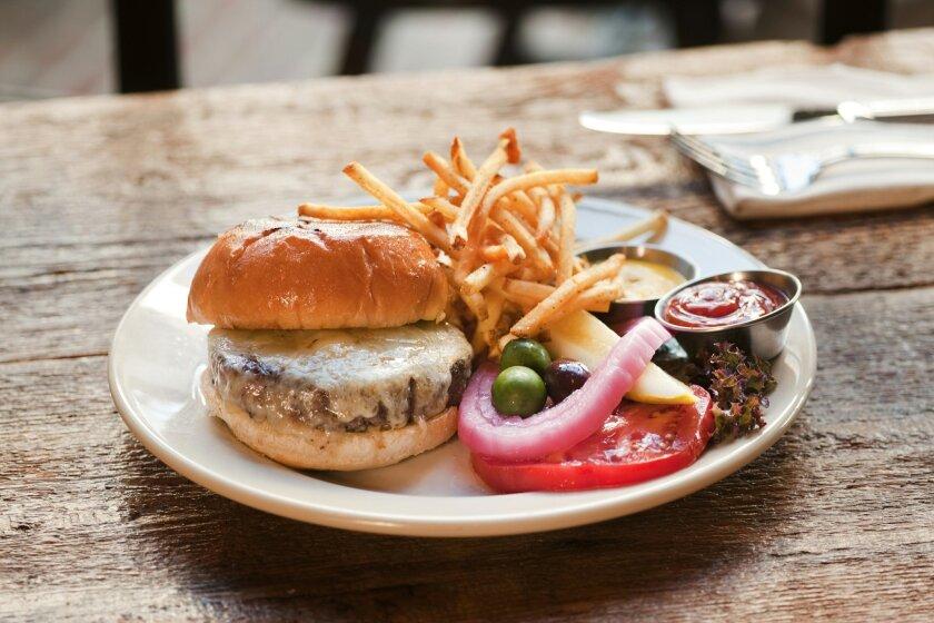 Bankers Hill Bar + Restaurant's famed BH Burger.