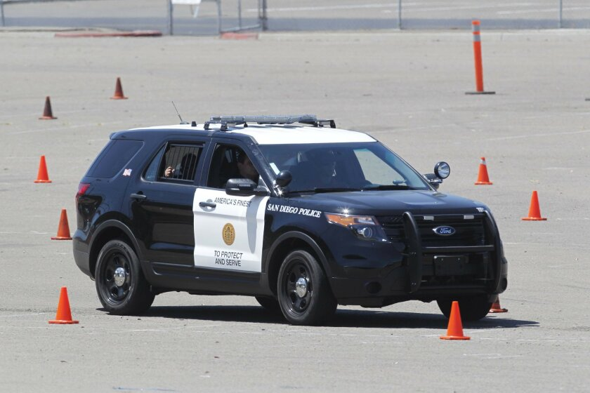 The San Diego Police Department's new Ford Interceptor's will start being seen on the streets in the next few weeks.