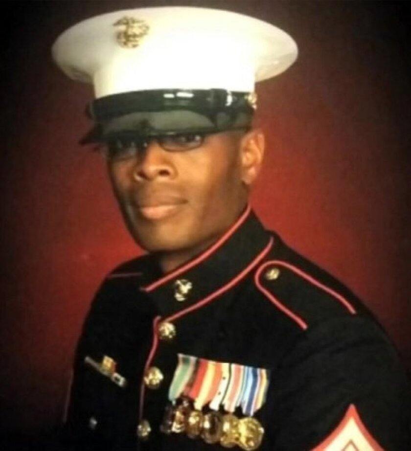 Marine veteran Johnathan Turner