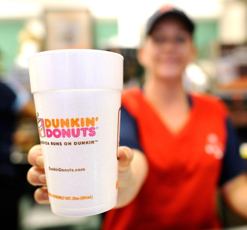 Dunkin Donuts shop opens in Santa Monica
