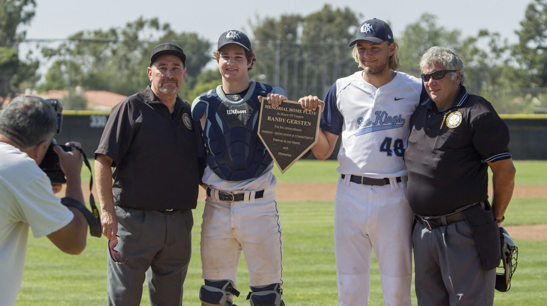 Photo Gallery:  CdM vs. Beckman Boys' Baseball