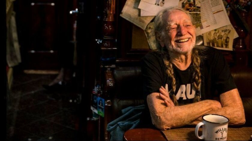 Willie Nelson's message irks some readers.