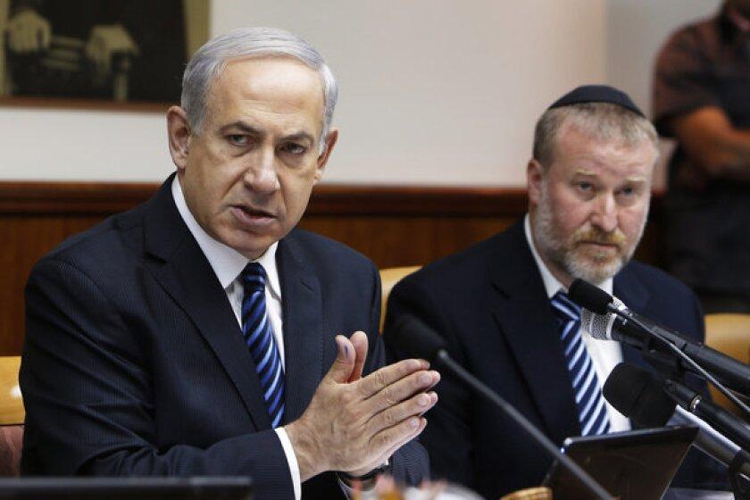 Benjamin Netanyahu, Avichai Mandelblit