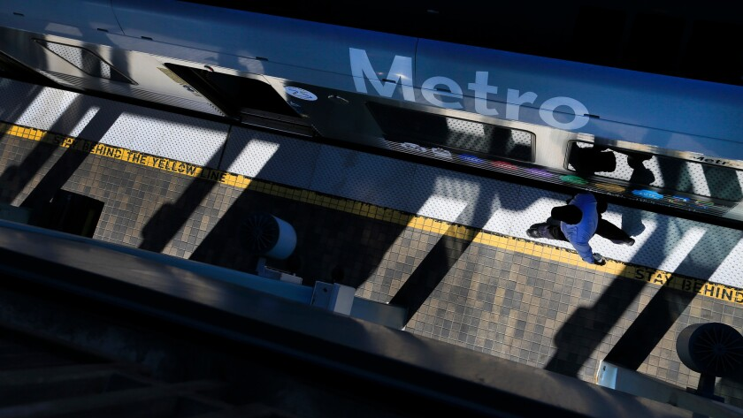 A Metro proposal on November's ballot, seeking a half-cent sales tax increase for a major expansion of the passenger rail network, is facing some early opposition from local groups in southern Los Angeles County.