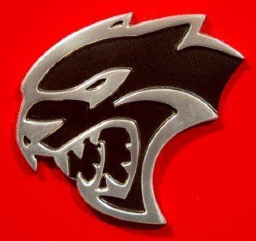 Dodge Charger Hellcat emblem