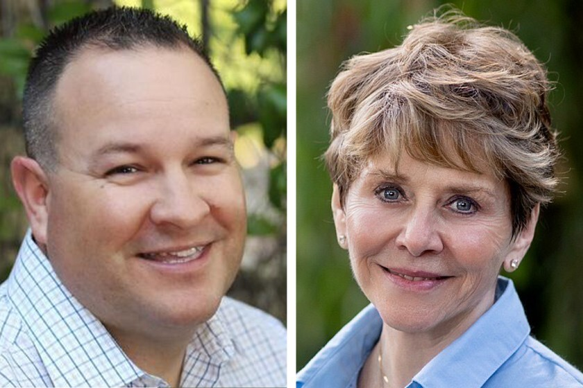 A recount shows Dustin Trotter still with more votes than Samm Hurst in the Santee District 4 City Council race.