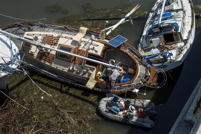 Un total de 1.968 embarcaciones han sido ya sacadas de los canales de Florida, cuando se cumplen once semanas del paso devastador del huracán Irma por este estado sureño donde causó al menos 72 muertos, informó hoy la Guardia Costera de EE.UU. EFE/ARCHIVO