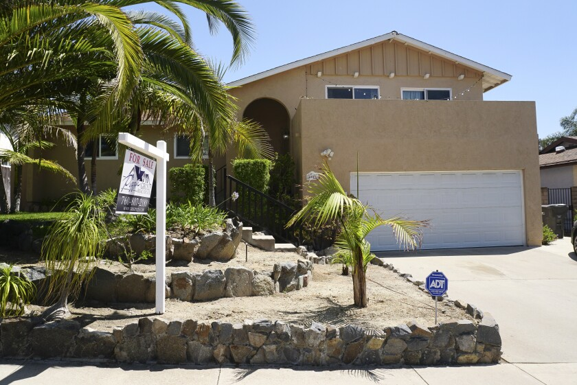 A home for sale in Oceanside.
