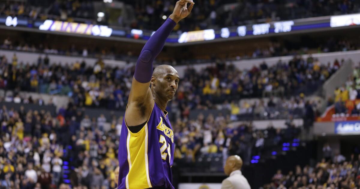 Bagaimana untuk menonton Kobe Bryant memorial