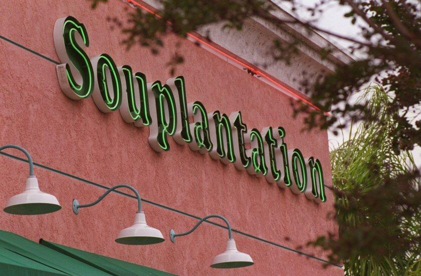A Souplantation restaurant.