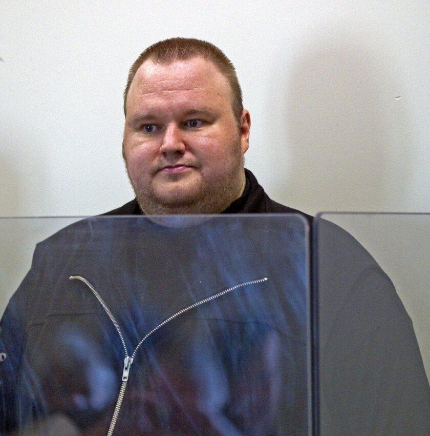 German national Kim Schmitz, also known as Kim Dotcom, of Megaupload in 2012.