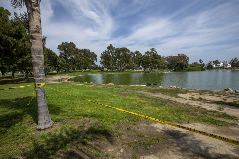 A body was found floating face down in North Lake at Mile Square Park on Friday, July 23.