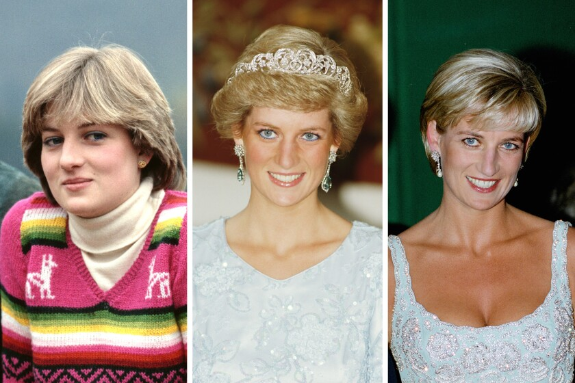 how princess diana s fashion inspires designers style icons los angeles times los angeles times