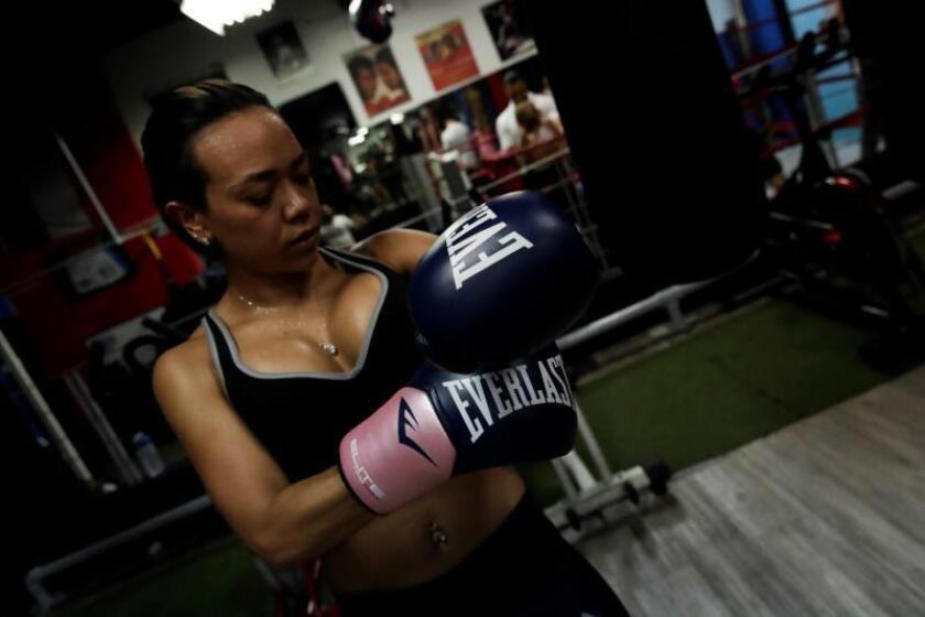 """El gimnasio panameño donde enseñan a noquear como """"Manos de Piedra"""" Durán"""