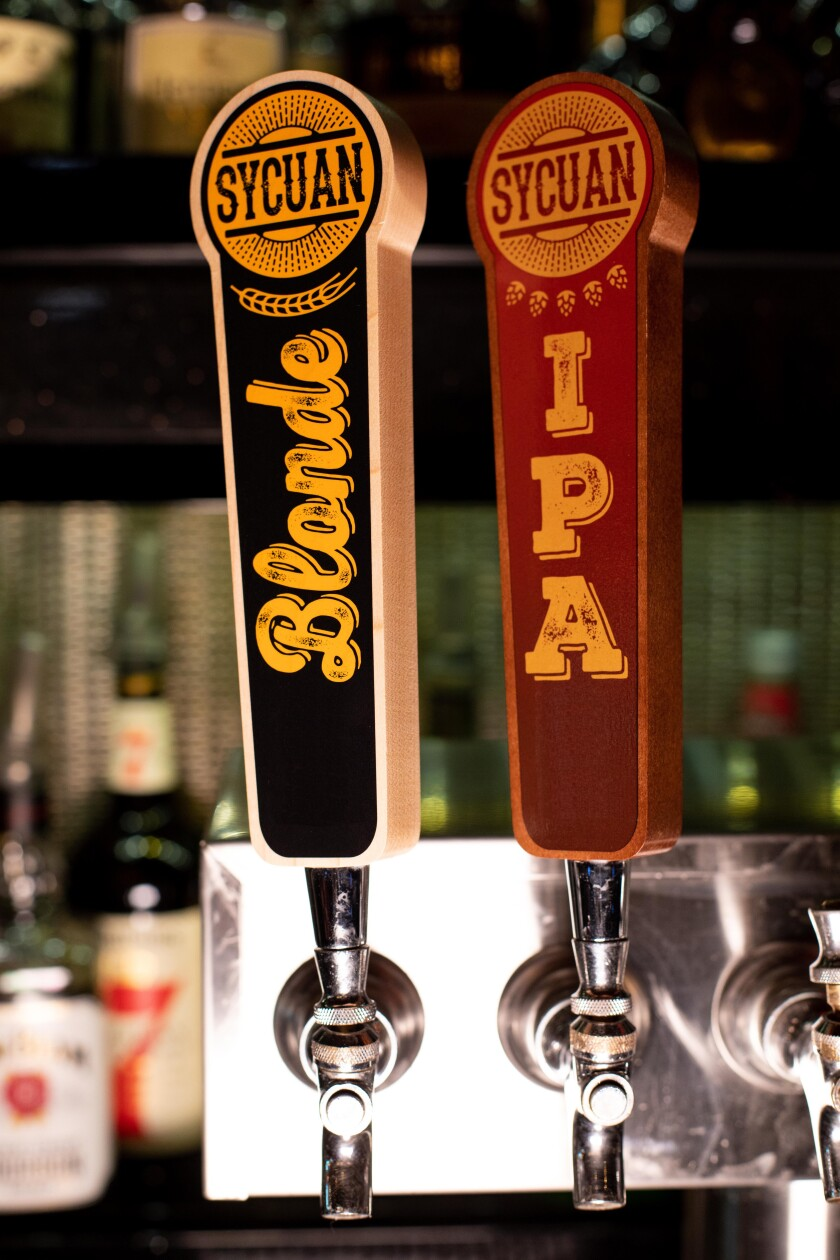 Sycuan Casino Resort has created its own Blonde Ale and IPA craft brews by Thorn Brewing.