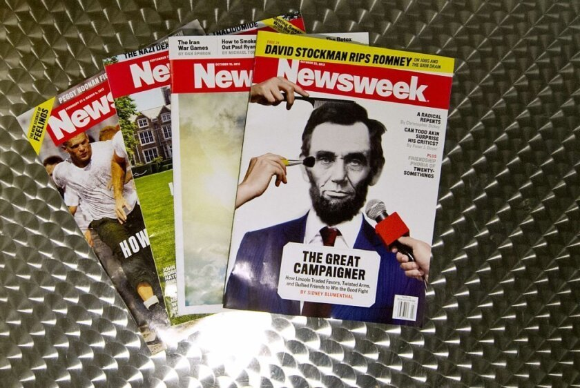 Newsweek sold again, this time to digital news company IBT Media