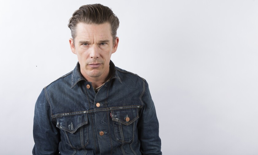"""Ethan Hawke is in final negotiations to join the cast of a """"Magnificent Seven"""" remake."""