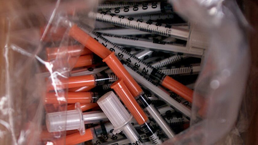 Needle exchange programs have a long history of reducing the spread of diseases.