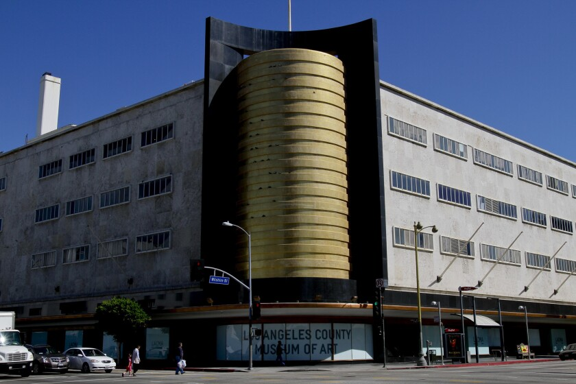 The old May Co. building at LACMA will be converted into the Academy Museum of Motion Pictures for the Academy of Motion Pictures and Arts and Sciences.