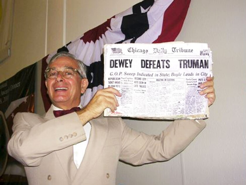 Peter M. Small as Harry Truman