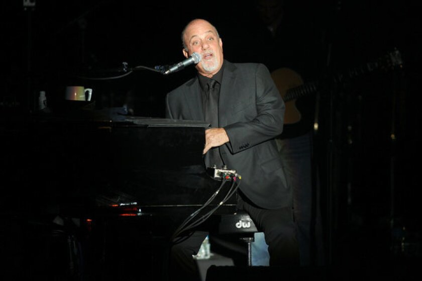 Billy Joel performs at the Paramount in Huntington, N.Y.