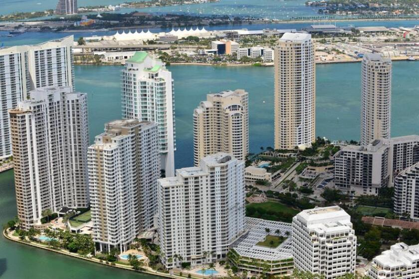 Vista de la ciudad de Miami. EFE/Archivo
