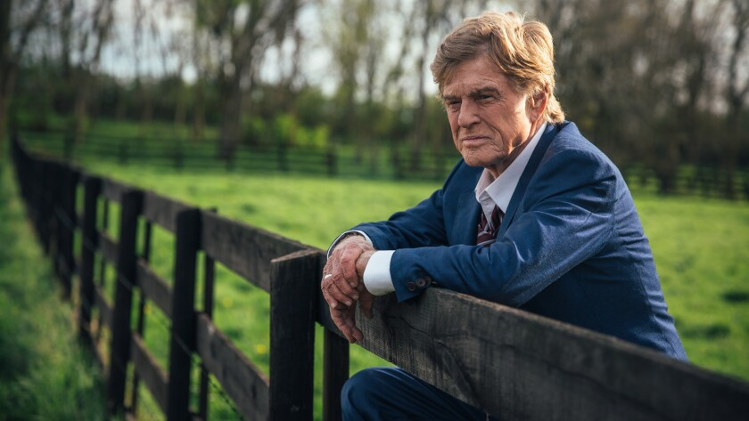 "Robert Redford in the movie ""The Old Man & the Gun."""