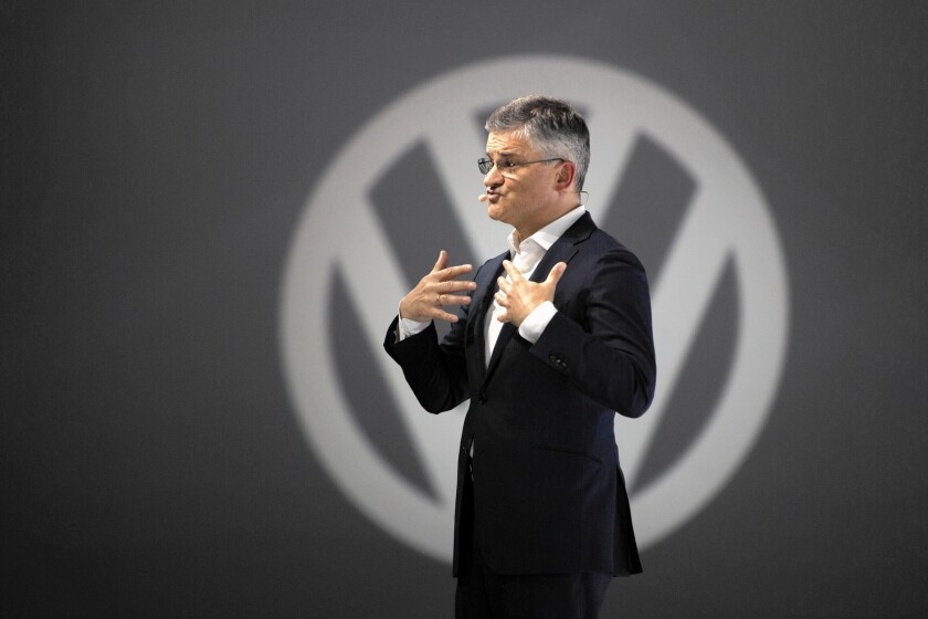 """We have totally screwed up,"" Volkswagen's U.S. chief, Michael Horn, said at a New York event for the new Passat. ""Our company was dishonest with the EPA, and the California Air Resources Board and with all of you."""