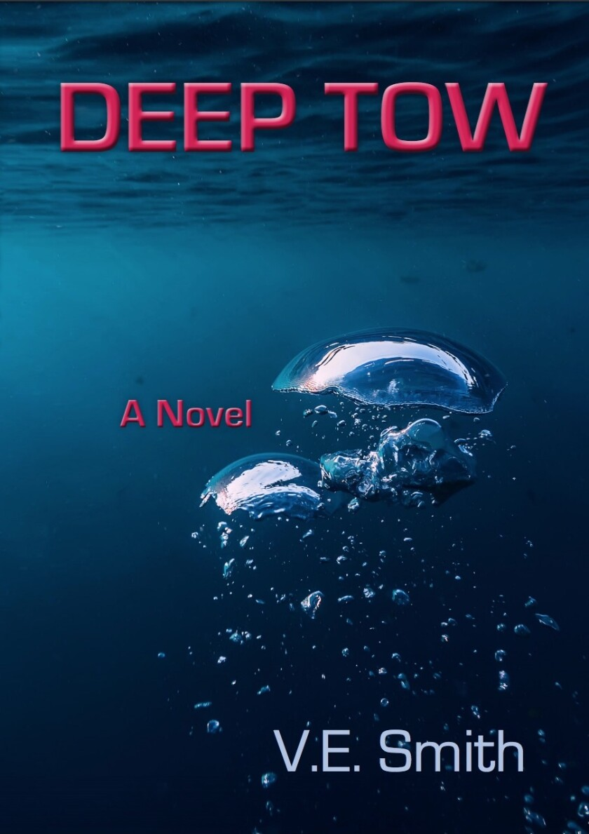 "V. Elliott Smith recently published his second novel, ""Deep Tow,"" influenced largely by his studies in La Jolla."