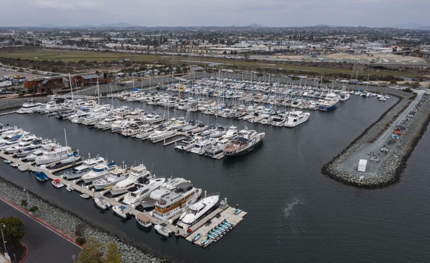 Pier 32 Marina in National City.