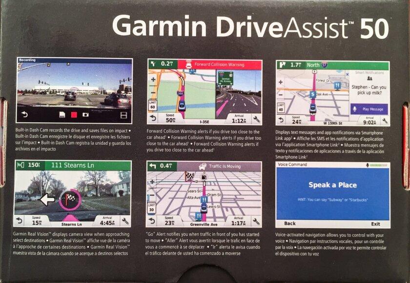 Navigation aids & camera functions