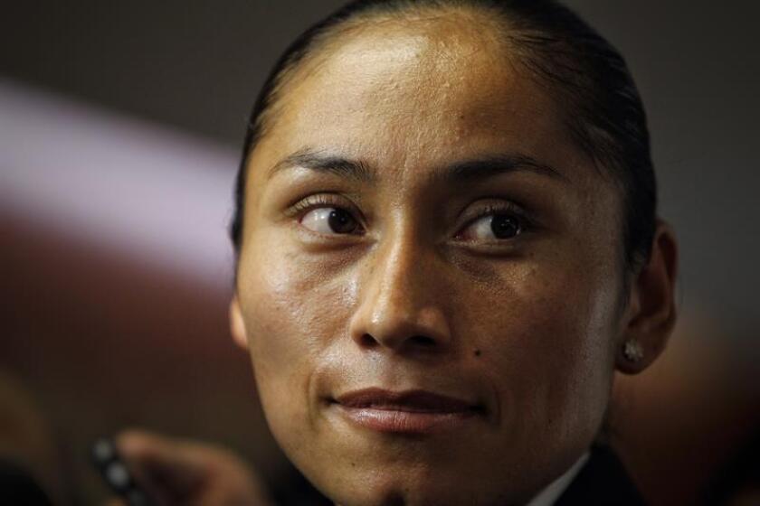 La mexicana Guadalupe 'Lupita' González, subcampeona olímpica de la caminata de 20 kilómetros. EFE/Archivo