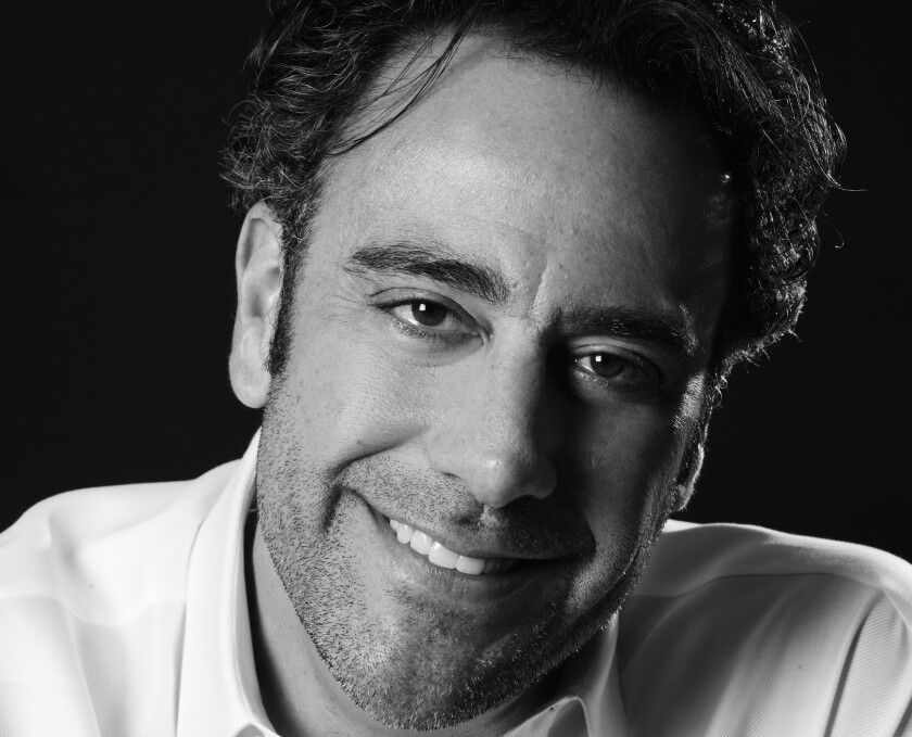 Comedian and actor Brad Garrett hosts a celebrity poker tournament for his charity at the MGM Grand in September.