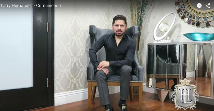 Larry Hernández rompe el silencio y desmiente que venderá la exclusiva (Video)