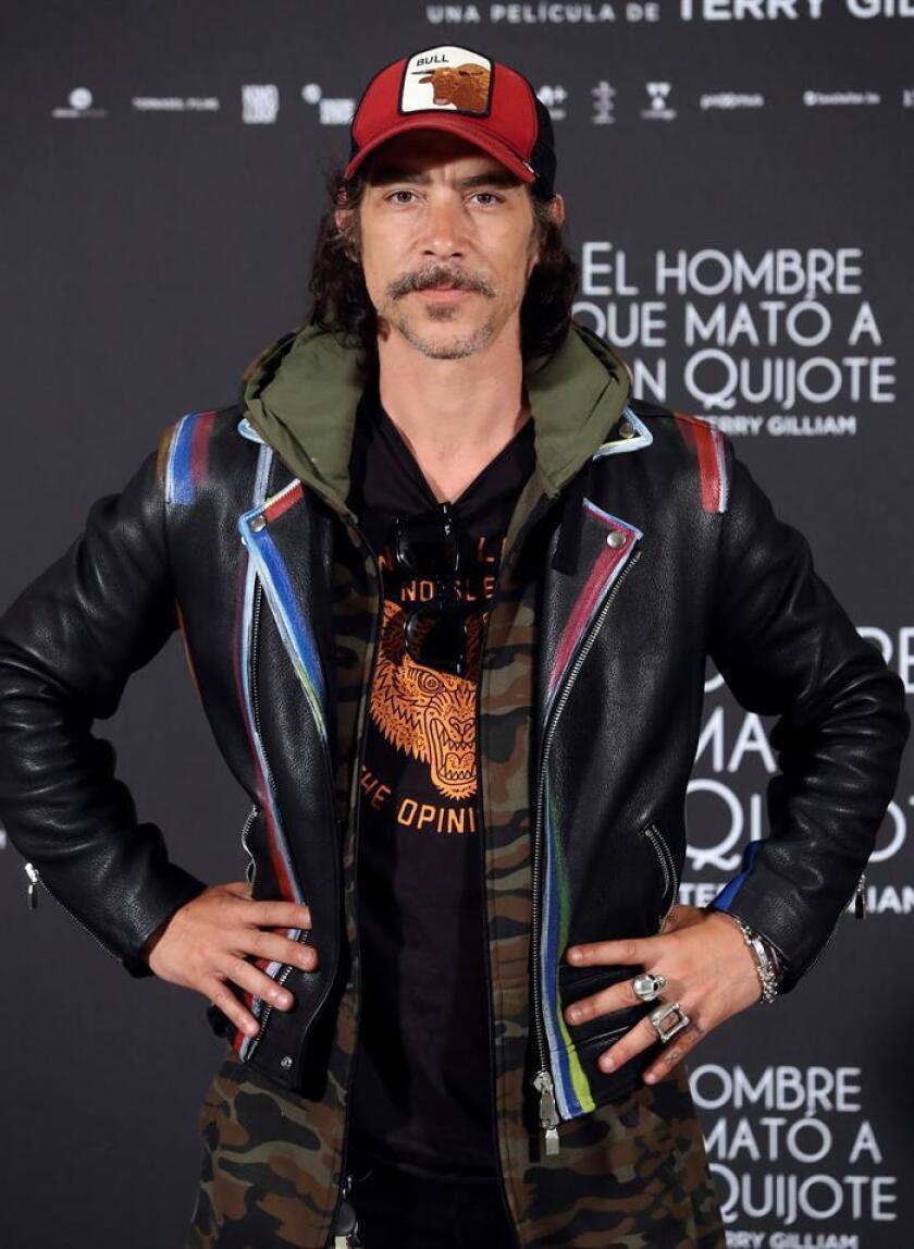 """El actor español Óscar Jaenada se ha sumado al reparto de """"Rambo 5"""", en el que figuran otros compatriotas suyos como Paz Vega o Sergio Peris-Mencheta, informó hoy el blog Deadline. EFE/ARCHIVO"""
