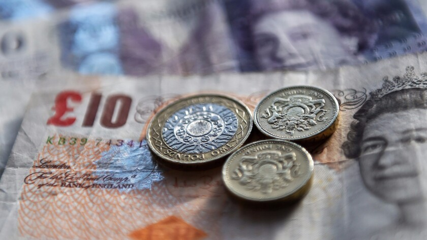 The pound dropped to a 31-year low on Tuesday.