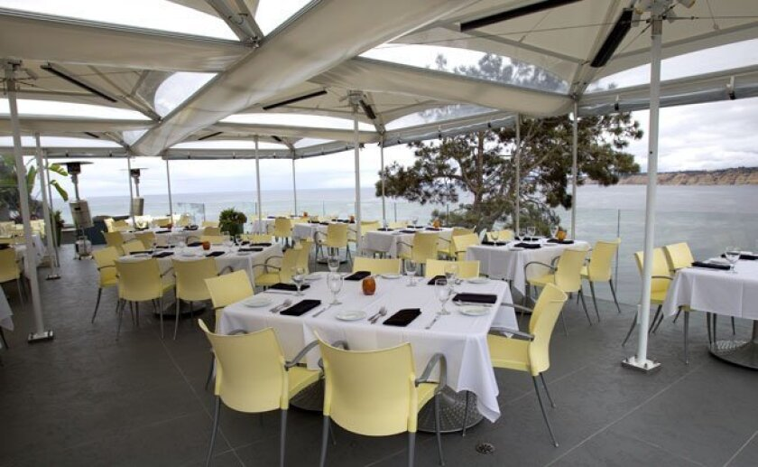 Eddie V's has a killer view of the La Jolla Cove to accent its Gulf Coast-inspired menu.