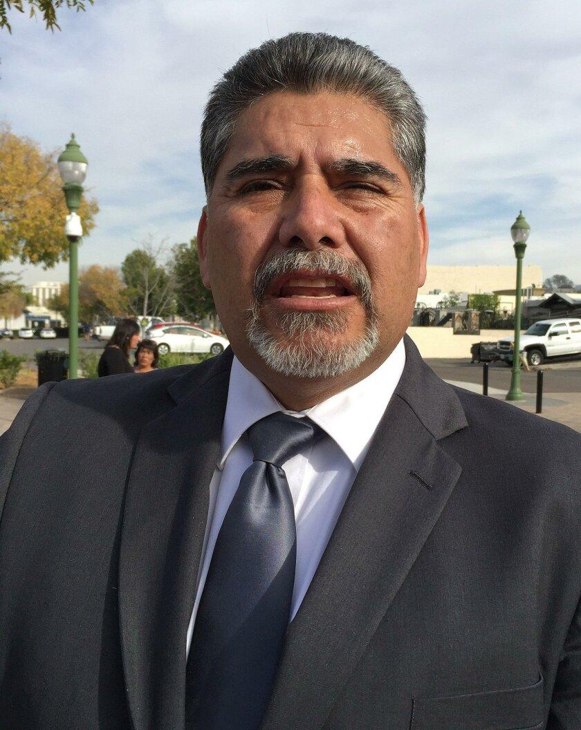Jose Fragozo, Escondido Union School District trustee. Photo by Pat Maio