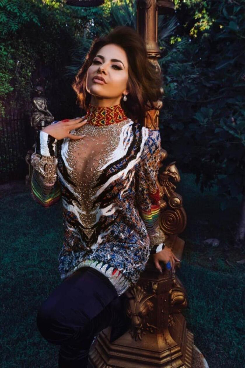 Fotografía facilitada por Universal Music de la cantante mexicana y ganadora del premio Mr.Gay Pride España 2019, Gloria Trevi. EFE