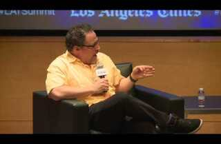 Jon Favreau talks about the future of storytelling at the L.A. Times Summit: The Big Idea event