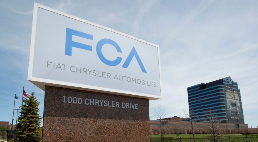 Fiat Chrysler and Renault potential merger, Auburn Hills, USA - 06 May 2014