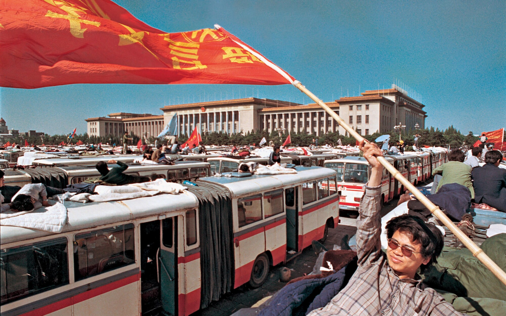 "Photographs by Liu Heung Shing from ""Life in a Sea of Red."""