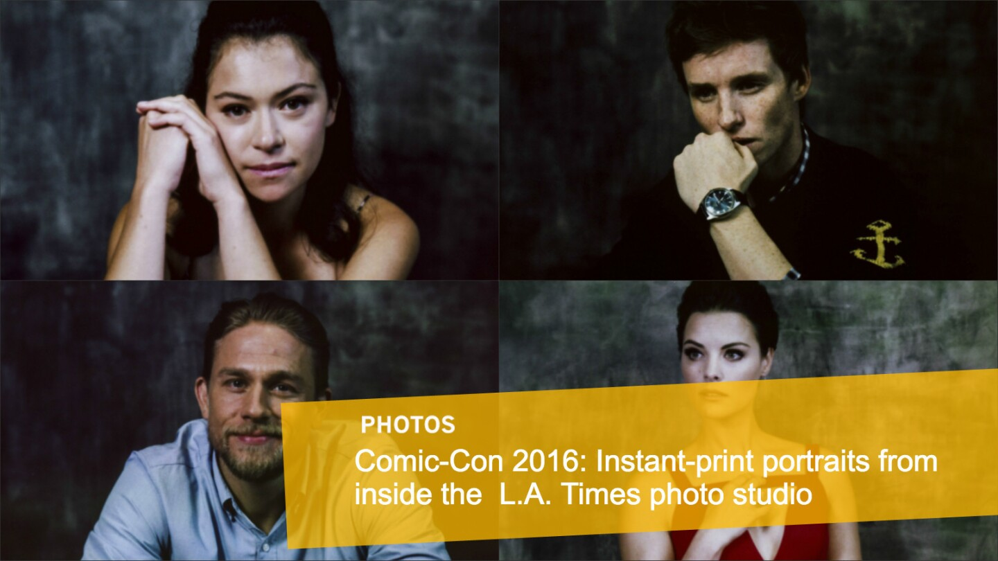 L.A. Times photo studio: Comic-Con 2016 instant-print portrait