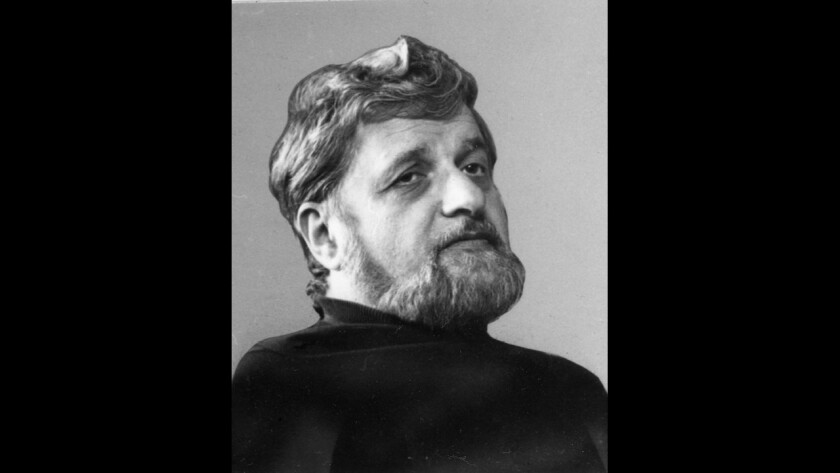 Portrait of playwriter Paddy Chayefsky from 1976.